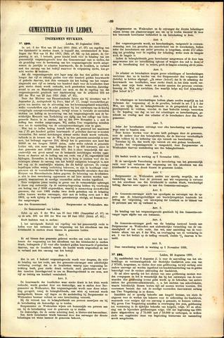 Handelingen van de Raad 1881-09-29