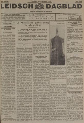 Leidsch Dagblad 1935-11-19