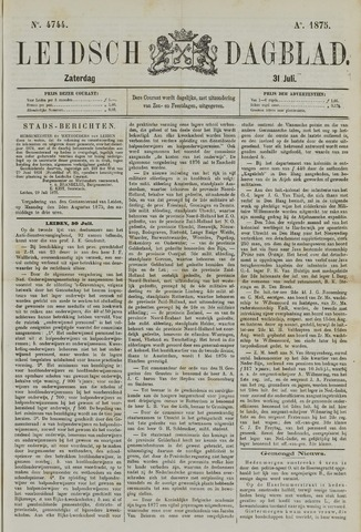 Leidsch Dagblad 1875-07-31