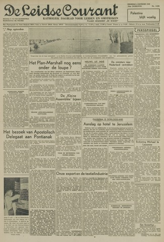 Leidse Courant 1948-01-06