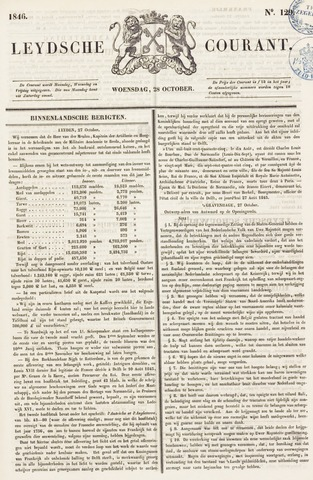 Leydse Courant 1846-10-28