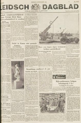 Leidsch Dagblad 1951-11-30