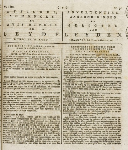 Leydse Courant 1812-08-10
