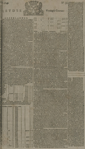 Leydse Courant 1749-04-25