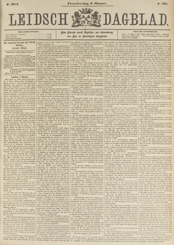 Leidsch Dagblad 1894-03-08