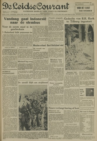 Leidse Courant 1955-09-29