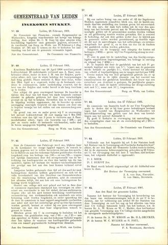 Handelingen van de Raad 1901-02-26