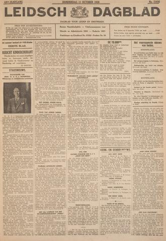 Leidsch Dagblad 1928-10-11