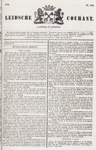 Leydse Courant 1876-08-05