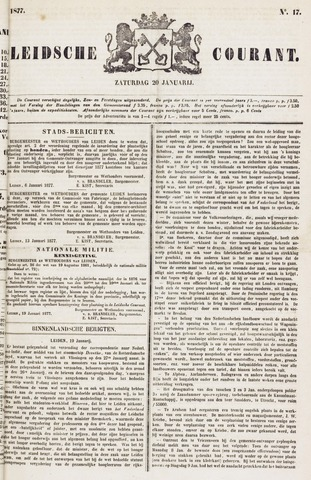 Leydse Courant 1877-01-20