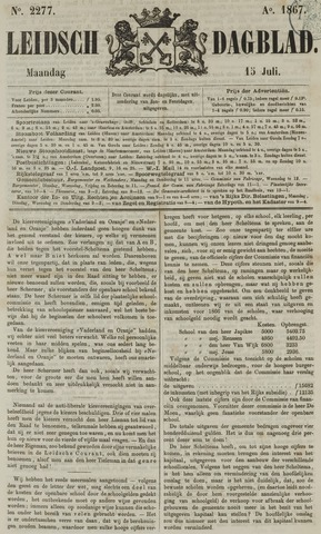 Leidsch Dagblad 1867-07-15