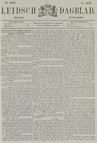 Leidsch Dagblad 1873-12-13