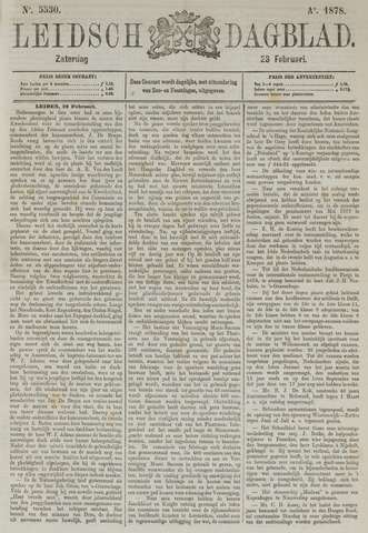 Leidsch Dagblad 1878-02-23