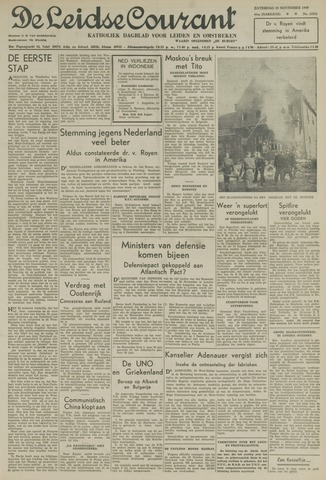 Leidse Courant 1949-11-19
