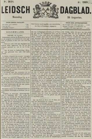 Leidsch Dagblad 1868-08-24