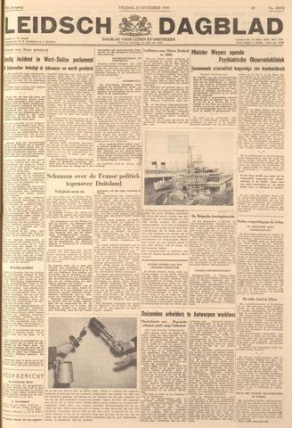 Leidsch Dagblad 1949-11-25