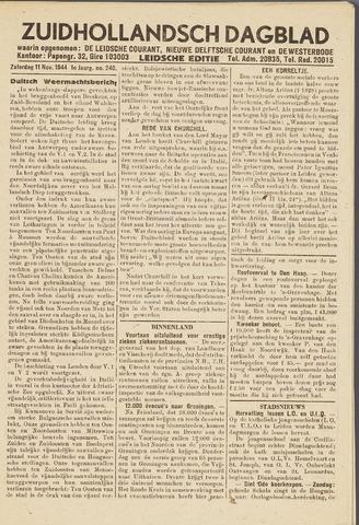 Zuidhollandsch Dagblad 1944-11-11
