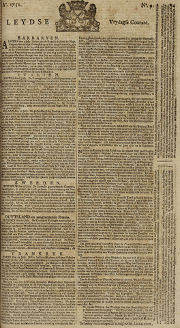 Leydse Courant 1751-07-30