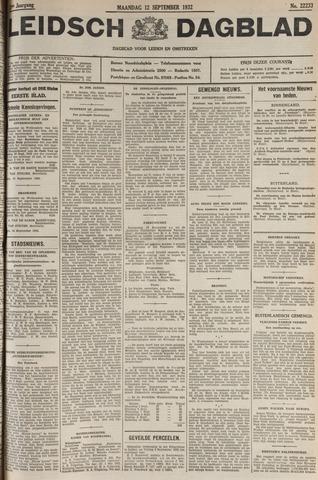 Leidsch Dagblad 1932-09-12