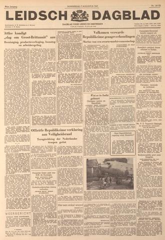 Leidsch Dagblad 1947-08-07