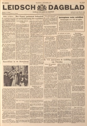 Leidsch Dagblad 1947-12-01