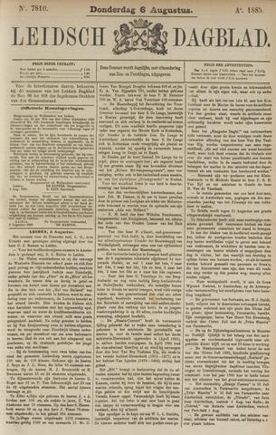Leidsch Dagblad 1885-08-06