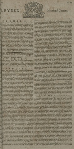 Leydse Courant 1722-07-27