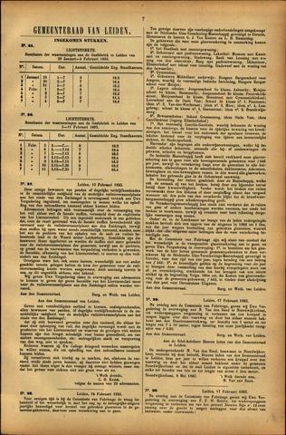 Handelingen van de Raad 1893-01-29