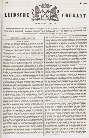 Leydse Courant 1876-08-29