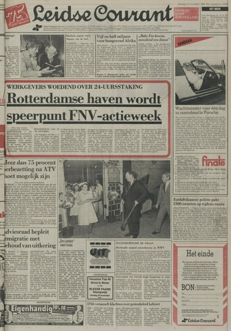 Leidse Courant 1984-11-17