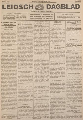 Leidsch Dagblad 1930-11-18