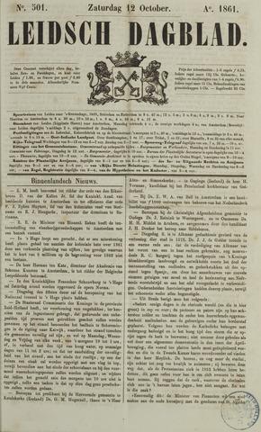 Leidsch Dagblad 1861-10-12
