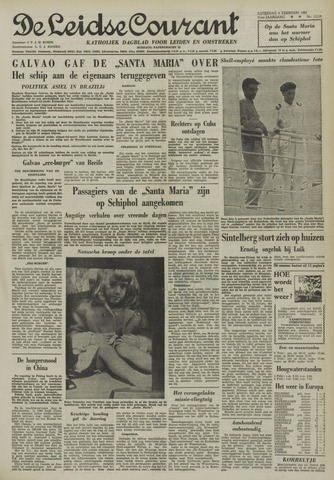 Leidse Courant 1961-02-04
