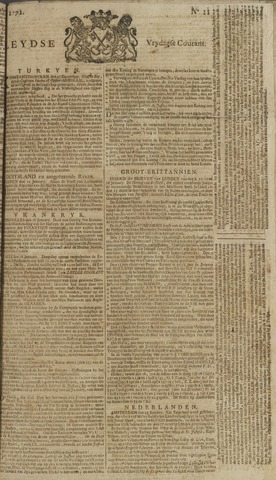 Leydse Courant 1771-01-25