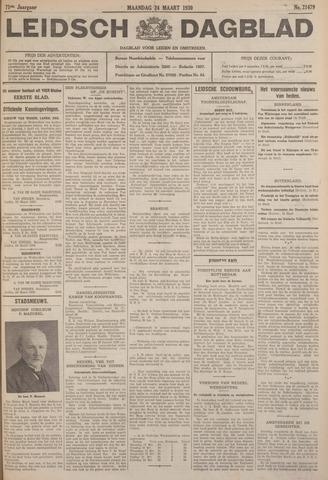 Leidsch Dagblad 1930-03-24