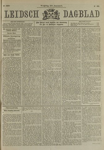 Leidsch Dagblad 1911-01-20