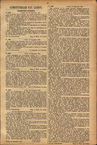Handelingen van de Raad 1887-09-19