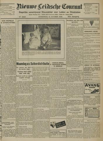 Nieuwe Leidsche Courant 1939-10-12