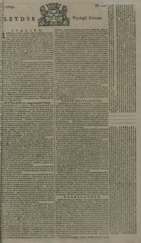 Leydse Courant 1745-10-22