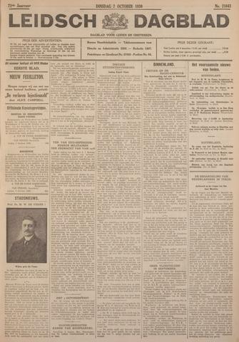 Leidsch Dagblad 1930-10-07