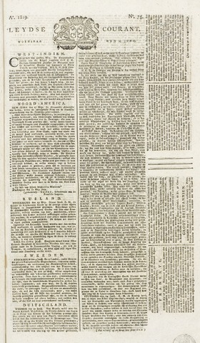 Leydse Courant 1819-06-23