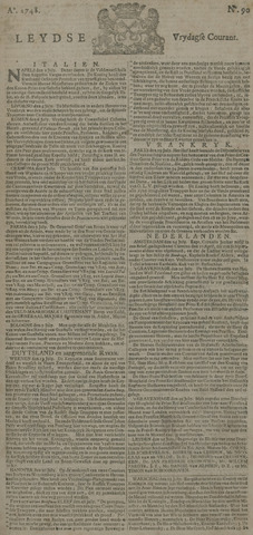 Leydse Courant 1748-07-26