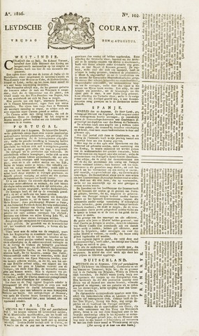 Leydse Courant 1826-08-25