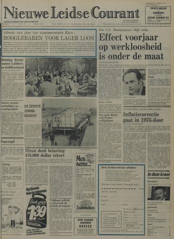 Nieuwe Leidsche Courant 1974-04-04