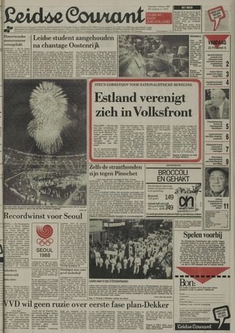 Leidse Courant 1988-10-03