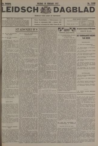 Leidsch Dagblad 1937-02-19