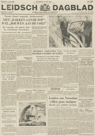 Leidsch Dagblad 1961-06-21
