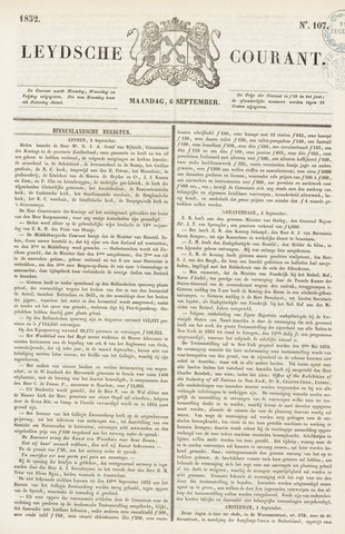 Leydse Courant 1852-09-06