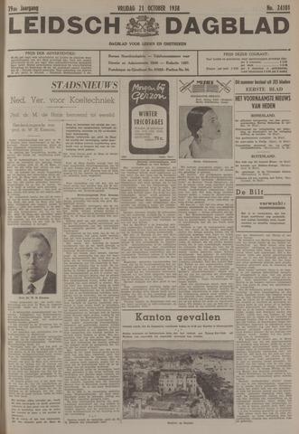 Leidsch Dagblad 1938-10-21