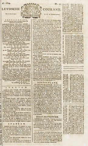 Leydse Courant 1824-02-18